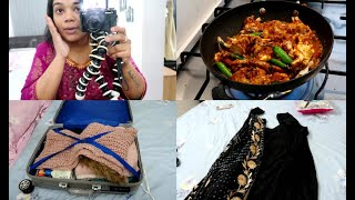 Packing for My Delhi Trip - What I do Before A Trip - Pepper Crab Fry Recipe