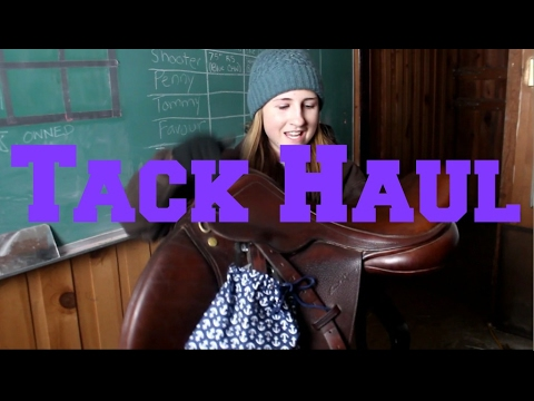Expensive Tack Haul!   EquineCass