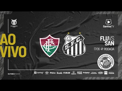 🔴 AO VIVO: FLUMINENSE X SANTOS | BRASILEIRÃO (17/06/21)