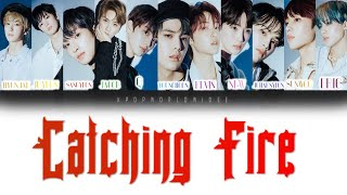 Cover images [Road to Kingdom] THE BOYZ - Catching Fire (REVEAL) (Color Coded Lyrics _ HAN/ROM/ENG)