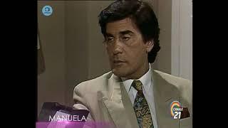 """🎭 Сериал """"Мануэла"""" 205 серия, 1991 год, Гресия Кольминарес, Хорхе Мартинес"""