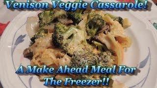 Venison Vegetable Casserole!