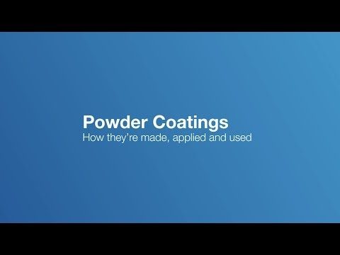 What are powder coatings, how are powder coatings made and applied?