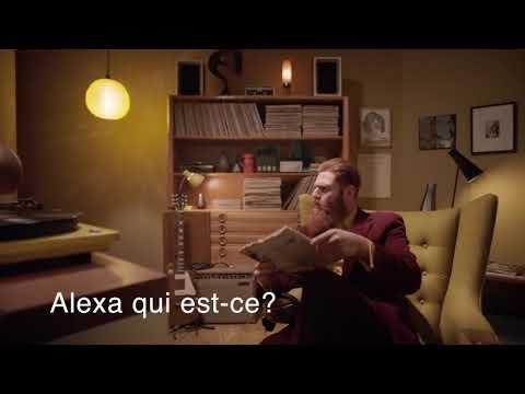Amazon Echo - publicité avec sous-titres