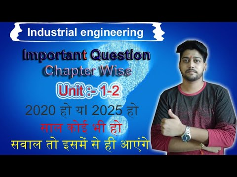 industrial engineering important question unit-1,2