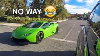Tesla Owner Thought His Car Was FASTER LOL! thumbnail