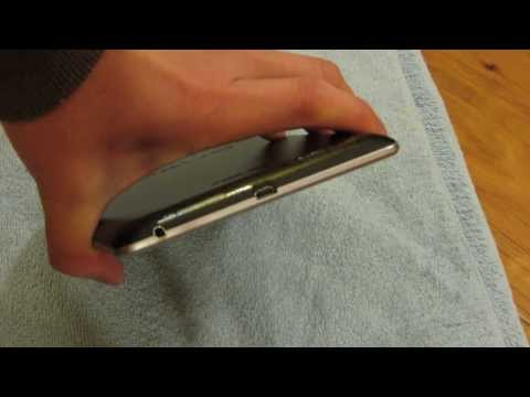 Nexus 7 - How to Open Google Nexus 7 with No Tools in 1080p