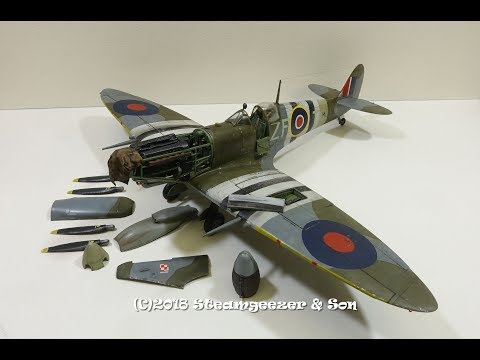 """Building the ICM 1/48 Spitfire Mk.IXc """"Beer Delivery"""""""