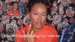 Easy and Quick Everyday Smokey Eye Tutorial