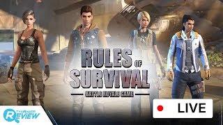 แคสเกมส์ Rules of Survival เกมส์แนวแบทเทิลรอยัลบนมือถือหรือจะพีซีก็ได้ !