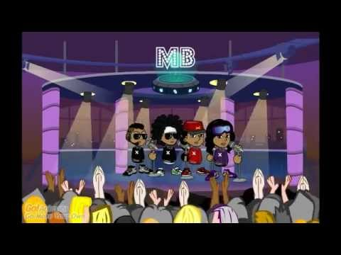 Mindless Behaviour-Hello Music Video (Cartoon Version)