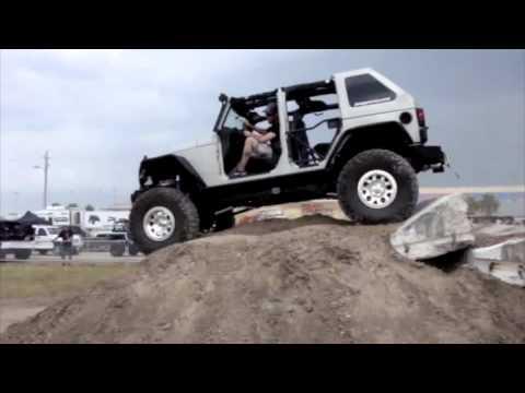 JEEPYARD 4BT Cummins Diesel Jeep JK at Jeep Beach 2011