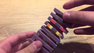 Papercraft Minecraft Magma Cube