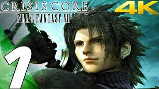 Crisis Core: Final Fantasy VII - Gameplay Walkthrough Part 1 -  Prologue [4K 60FPS]