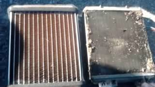 3х рядная медная печка в Ваз 2104 + доработка!