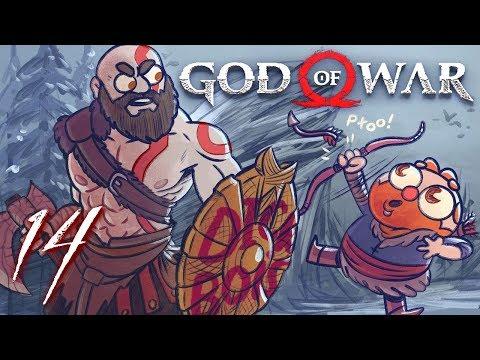 God of War HARD MODE (God of War 4) Part 14 - w/ The Completionist