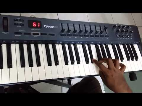 Thanni thotty thedy vantha tamil song keyboard cover with karaoke