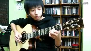 Очень красивая игра на гитаре