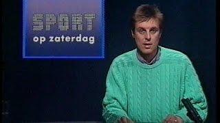 Sport Op Zaterdag [Frank Raes] (BRT, 26 maart 1988)