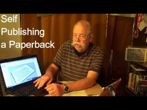 Self Publishing a Paperback