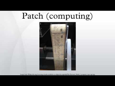 Patch (computing)