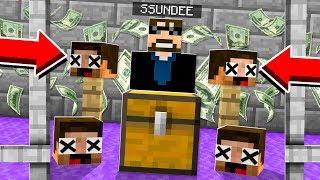 Collecting *YOUR* Heads!! Minecraft: JAIL BREAK #13