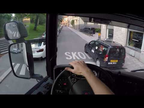 Stockholm City - Trucking Vlog, Scania P360, 14 june 2017.