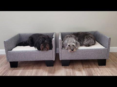 Custom Upholstered Dog Beds