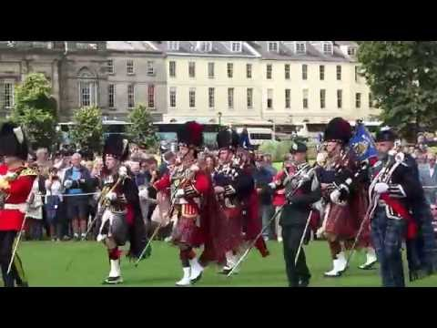 Massed Bands Military Tattoo In Perth Perthshire Scotland