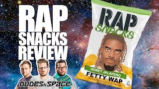 Rap Snacks - Honey Jalapeno and Honey Barbequin Potato Chip Review - Dudes N Space