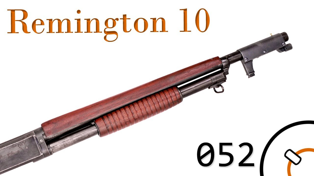 Small Arms Of Wwi Primer 052 Us Remington Model 10 Trenchgun