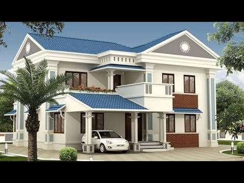 Small Modern Double Floor House 1300 Sft For 13 Lakh