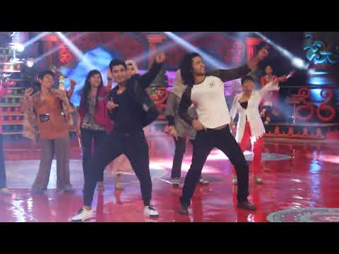 shaheer dance with vinrana at panah asmara arjuna 2014