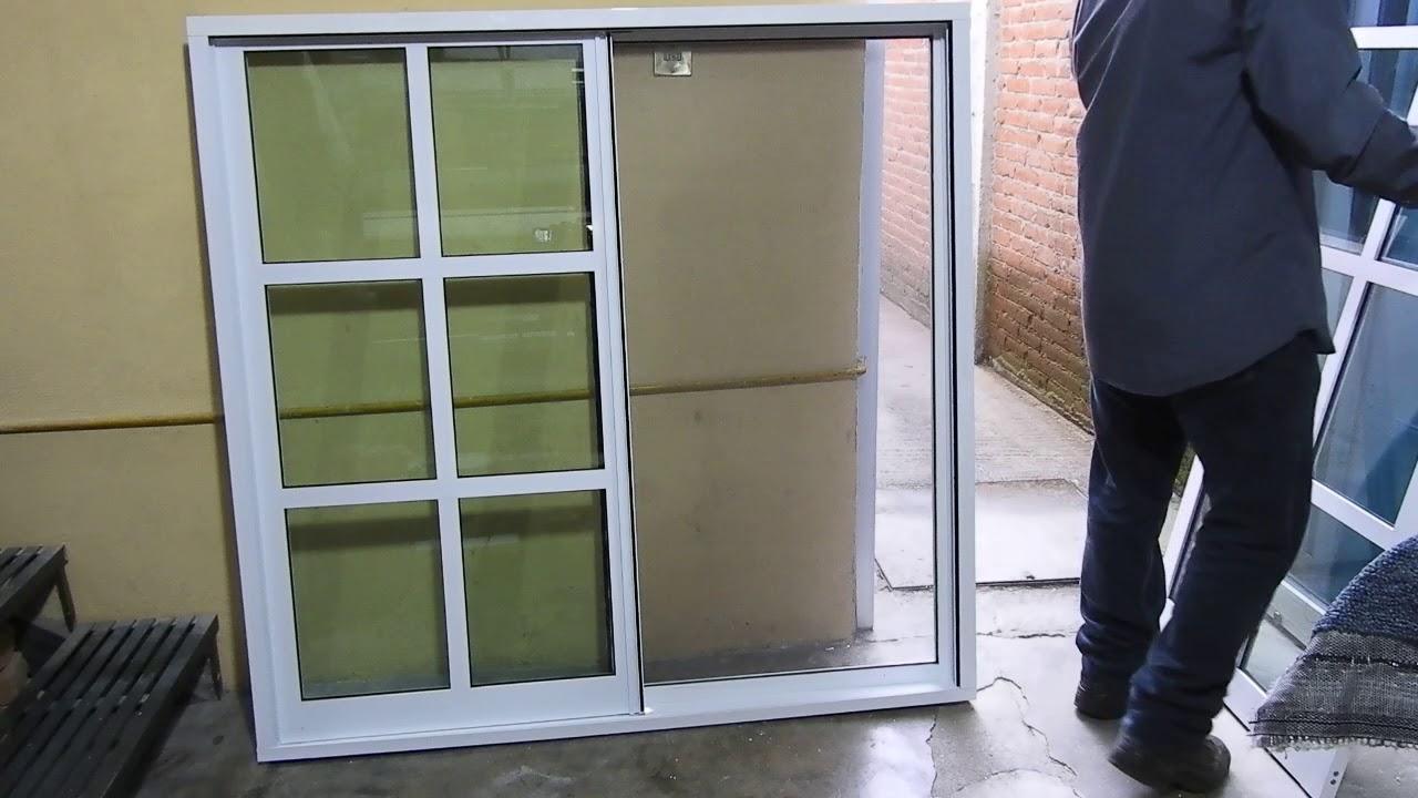 Ventana de aluminio de 3 parte 7 y ultima con mosquitero for Mosquiteros de aluminio
