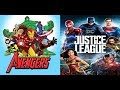 Avengers Earth's Mightiest Heroes intro (Justice League style)