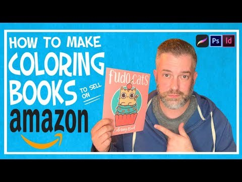 How To Make $ With Your Art: Amazon / KDP Coloring Books