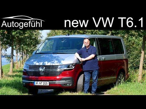 Volkswagen Multivan T6 Facelift FULL REVIEW driving the T6.1 - Autogefühl