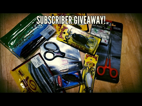 (closed) FREE FISHING TACKLE GIVEAWAY!