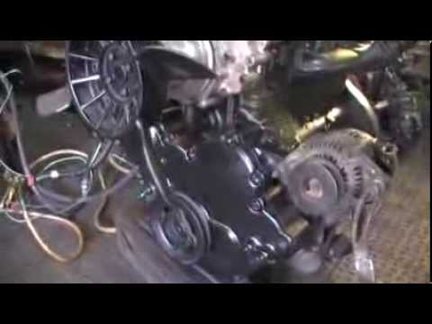 Двигатель TOYOTA 1DZ готовый к выдаче из ремонта