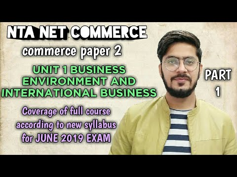 #1 business environment and types of business environment | UGC/NTA NET COMMERCE |