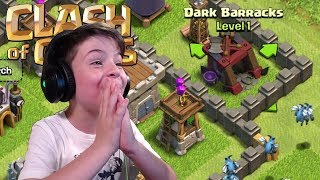 DARK BARRACKS - Clash of Clans