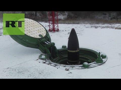 Lanzamiento de un misil balístico Topol-M