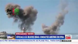 Israeli Air Force attack in syria:The target - Iranian missiles Designated for hezbollah