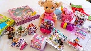 Ляльки Пупсики Багато Іграшок Що ми Купили? Набори Для творчості Сюрпризи Для дітей 108mamaTV