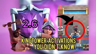 35 KINGTOWER ACTIVATIONS FOR 2.6 HOG CYCLE | ULTIMATE GUIDE | Clash Royale