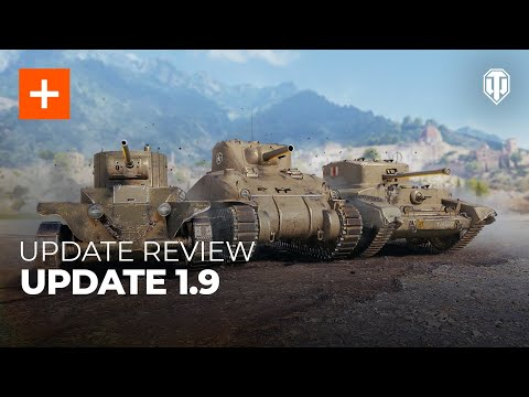Update 1.9 Review: 10th Anniversary, New Tech Trees, and Collectors' Vehicles