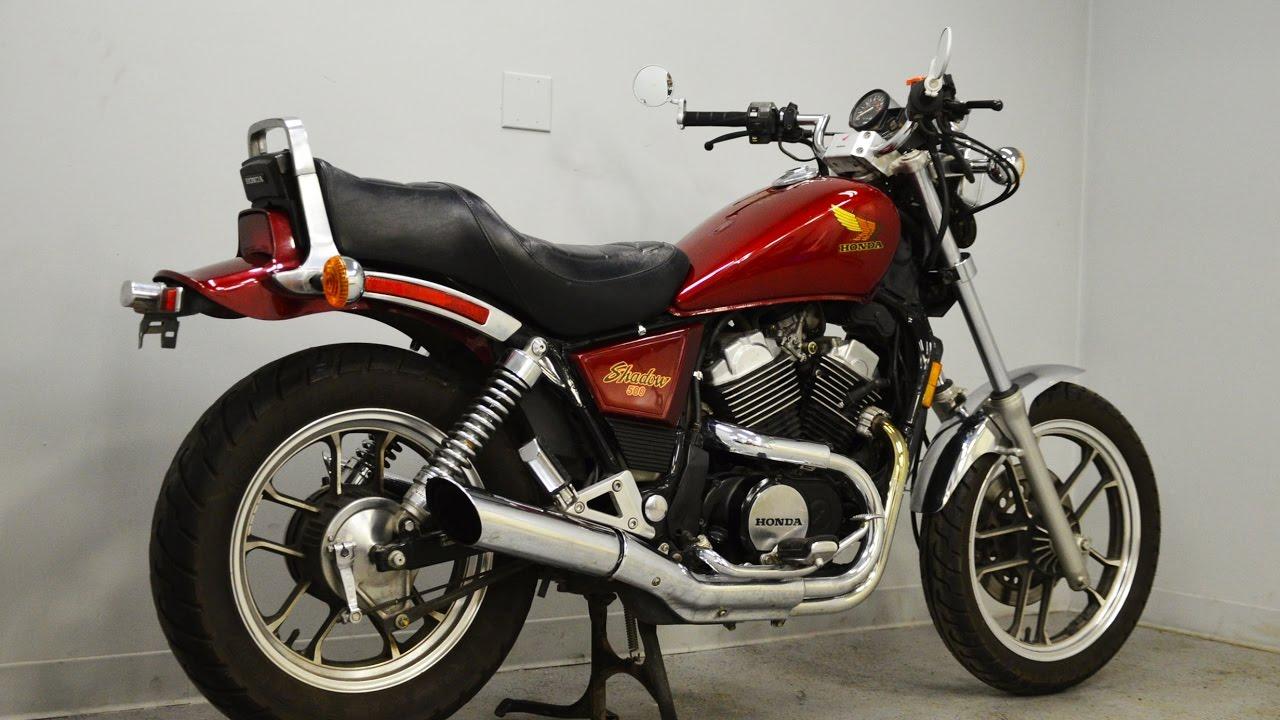 1984 Honda Shadow 500 - Sold - YouTube