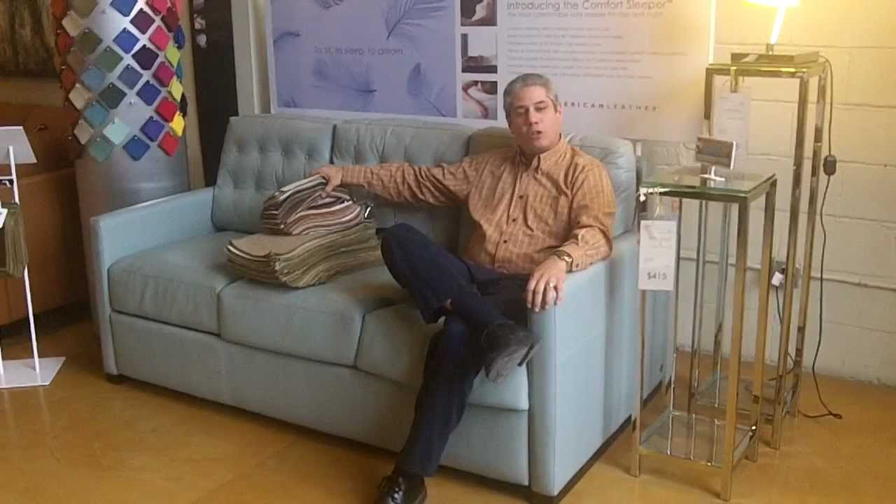 American Leather Comfort Sleepers Youtube