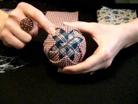 Quilted Christmas Ornament_0001.wmv - YouTube : quilted ball - Adamdwight.com