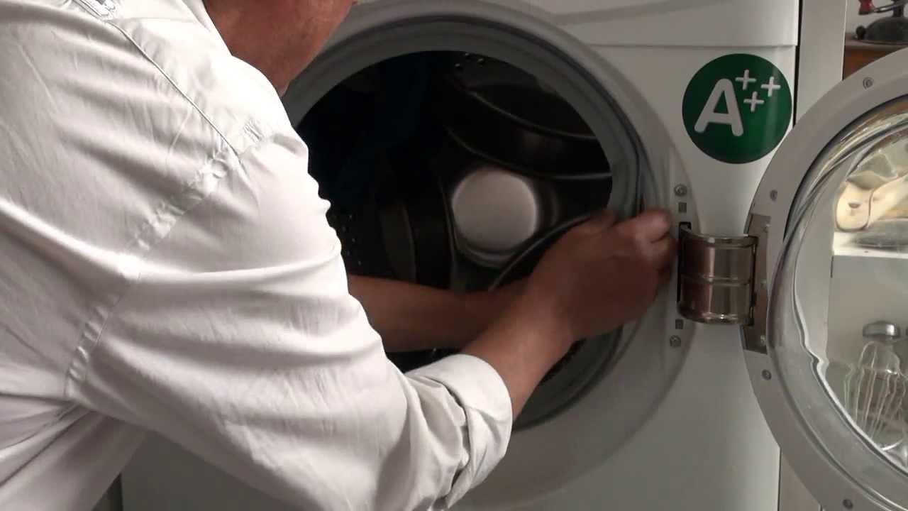 Lavadora Extraccion De La Goma De La Escotilla Videos Jevibe
